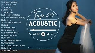 Greatest Hits Acoustic 2021 ♥ Beautiful Acoustic Cover Of Popular Songs 2021
