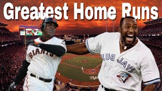 11 Greatest Home Runs in MLB History