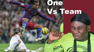 *He has the Craziest Skill Set in Soccer!* Ronaldinho - Football's Greatest Entertainment {Reaction}