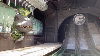 [NEW] JURASSIC WORLD The Ride! New INDOMINUS REX! | Universal Studios Hollywood 2021!