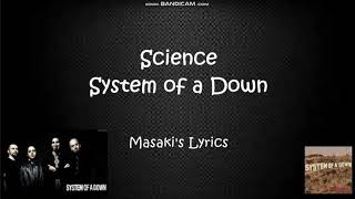 System of a Down - Science (Lyric Video)