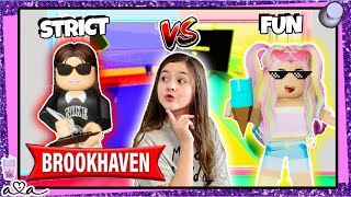 Strenge Mutter vs Fun Mutter in Brookhaven Roleplay *Roblox | Alles Ava Gaming