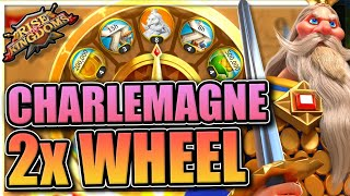 2x Charlemagne Wheel of Fortune in Rise of Kingdoms [This is not a joke]