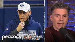 Cowboys look for new coaches after firing Mike Nolan, Jim Tomsula | Pro Football Talk | NBC Sports