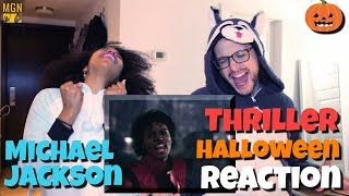 Michael Jackson - Thriller - Halloween Reaction