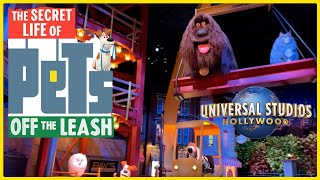 NEW The Secret Life of Pets: Off the Leash | Full Walkthrough & POV | Universal Studios Hollywood