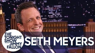 Seth Meyers Shares a Travel Horror Story About Taking Toddler Sons to Uruguay