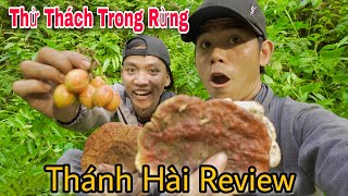 Challenging A Day In The Forest Discovering And Eating Strange Fruits | Ca Cuong TV