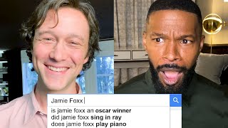 Jamie Foxx & Joseph Gordon-Levitt Answer the Web's Most Searched Questions | WIRED