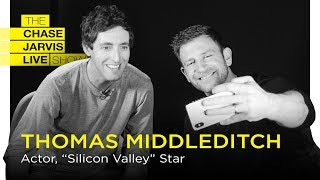 Celebrating Your Weirdness /w Thomas Middleditch | Chase Jarvis LIVE