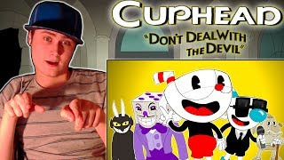 ♪CUPHEAD SONG - Don't Deal With The Devil Animation | REACTION