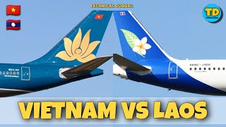 Vietnam Airlines VS Lao Airlines Comparison 2020!