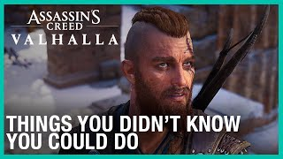 Assassin's Creed Valhalla: Things You Didn't Know You Could Do | Ubisoft [NA]