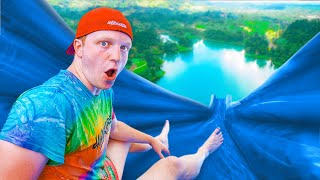 The BIGGEST Backyard WATER SLIDE Challenge!