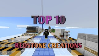 10 Minecraft Redstone Creations That Will Blow Your Mind!