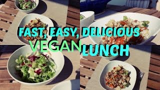 Fast, easy, delicious VEGAN lunch