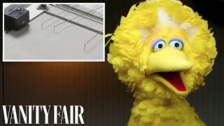 Big Bird Takes a Lie Detector Test | Vanity Fair