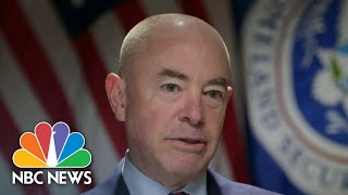 One-on-One With Homeland Security Sec. Mayorkas, First Migrant Families Reunited | NBC Nightly News