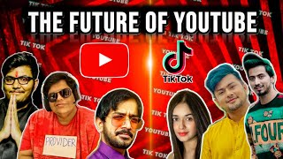 FUTURE OF YOUTUBE ? CAN TIK TOKERS BE THE NEXT BIG YOUTUBERS??