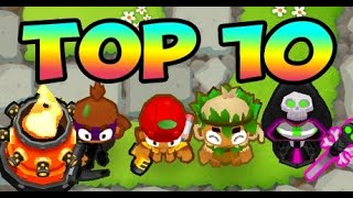 Top 10 Ways To Beat MOABS - Bloons TD 6