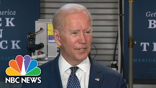 Biden Suggests Giving Tax Breaks To Working Class Families | NBC News