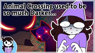 Animal Crossing used to be so much darker...