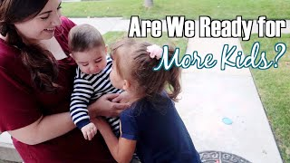 Are We Ready For More Kids? Bits of the Week