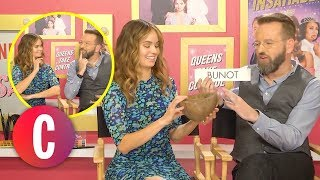 The Cast Of 'Insatiable' Guess Filipino Things And Try Pinoy Snacks