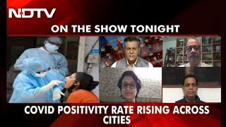 Covid Positivity Rate Rises, Health Infrastructure Collapses | Left, Right & Centre