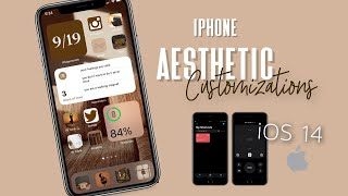 HOW TO: Aesthetic iPhone Customization with iOS 14! // Widgets, Shortcuts + Apps