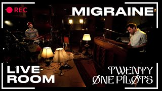 "twenty one pilots - ""Migraine"" captured in The Live Room"