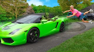 Pond Monster Stole My Lamborghini Sharerghini!! (How to get it back?)