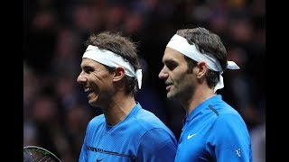 2017 Laver Cup Doubles R. Nadal/R.Federer vs. S.Querrey/J.Sock / FULL MATCH