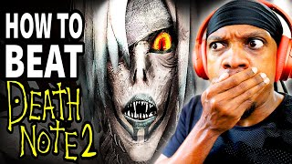 "How To Beat The DEATH GOD'S Game In ""Death Note 2"" REACTION!"