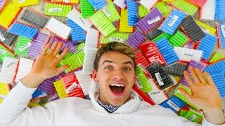 1500 NERF DARTS in GIANT BALLOON SURPRISE!