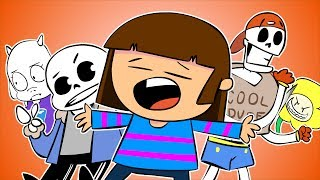 ♪ NEUTRAL RUN - Undertale Animation Parody Song