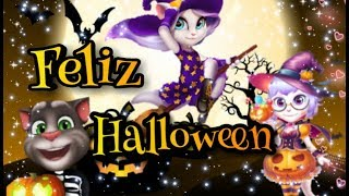 Feliz Halloween 🎃//Talking Tom [[Thriller~Michael Jackson]]
