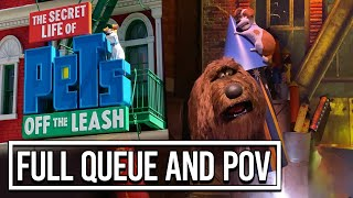 Full POV Ride-through of Secret Life of Pets: Off the Leash at Universal Studios Hollywood