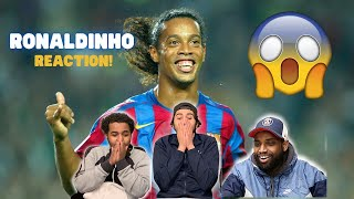 FIRST TIME REACTION TO RONALDINHO! | Ronaldinho Reaction | Half A Yard Reacts