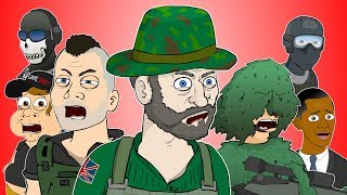 CALL OF DUTY: MODERN WARFARE - Captain Price's Animated Adventures