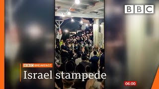 Dozens killed in Israeli religious festival crush @BBC News live 🔴 BBC