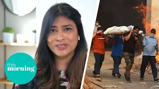 Nisha Katona Opens Up About Devastating Impact Of India's Covid Crisis On Her Family | This Morning