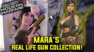The REAL LIFE MARA's GUN COLLECTION  (*Call of Duty*)
