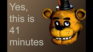 i unironically love five nights at freddy's