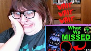 Game Theory FNAF, The Clue that SOLVED Five Nights at Freddy's! REACTION