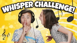 WHISPER CHALLENGE!!! Brother vs. Sister Lip Reading Contest!