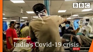 Covid: India sets another infection record @BBC News live 🔴 BBC