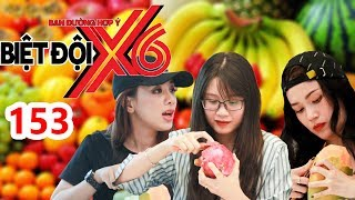 X6 SQUAD| #153| Cat Tuong & 'Wanna Date' at the beach - Thanh Tran & Miko compete in peeling fruit