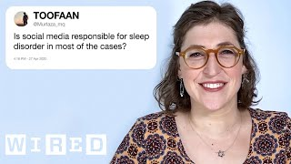 Mayim Bialik Answers Neuroscience Questions From Twitter | Tech Support | WIRED