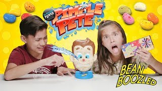 PIMPLE POPPING CHALLENGE!!! Pimple Pete with Bean Boozled!